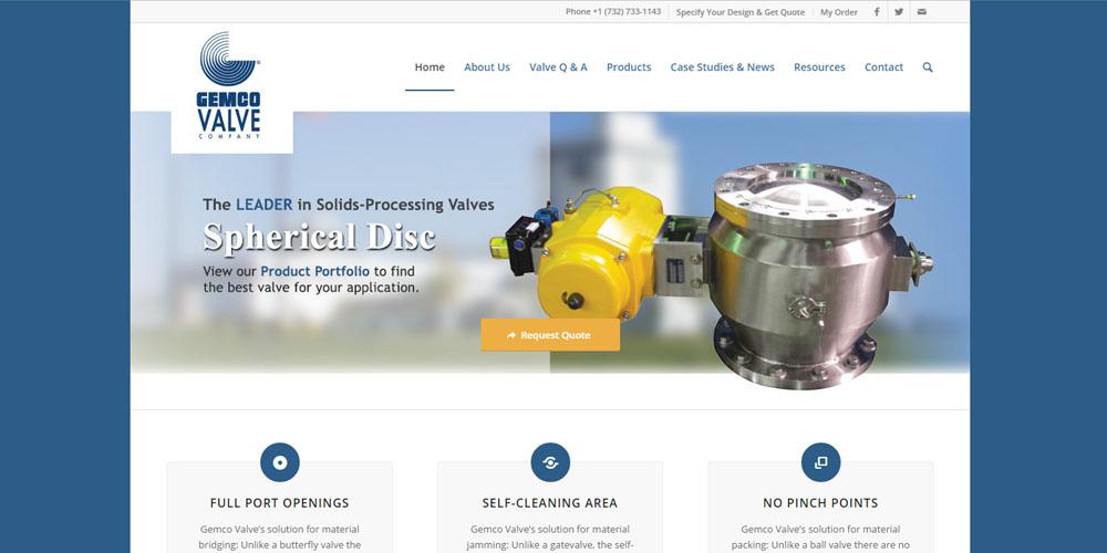 Gemco Valve website