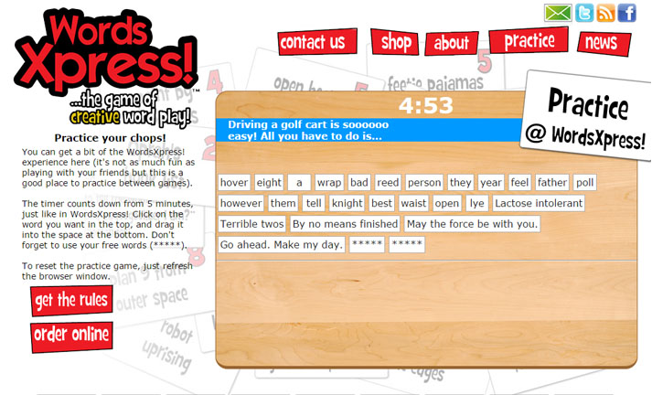 Online Word Game Application Was Built Using Php And Css Elwood